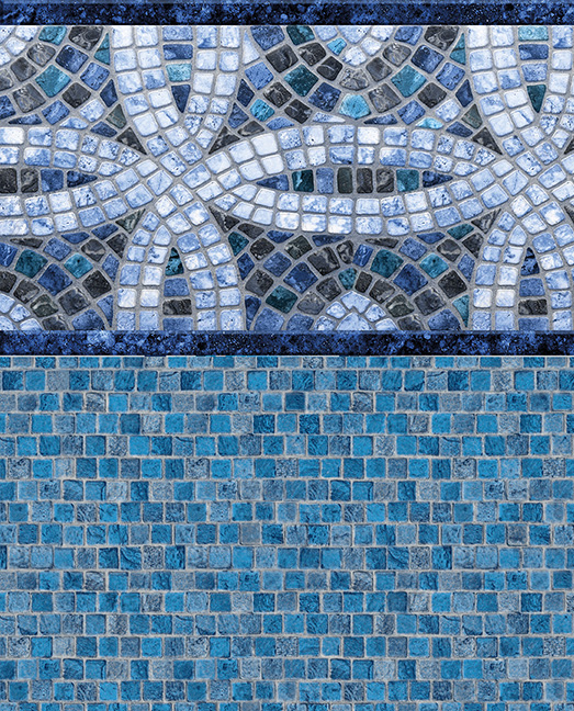 Elemental Gray - Stoncrafted Mosaic Liner