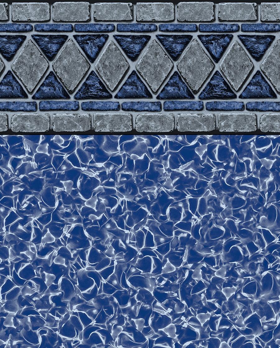 Hampton Lancashire Tile Reflections Bottom Liner
