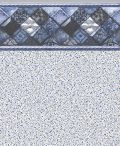 Park Avenue Tile Crystal Quartz Bottom Liner