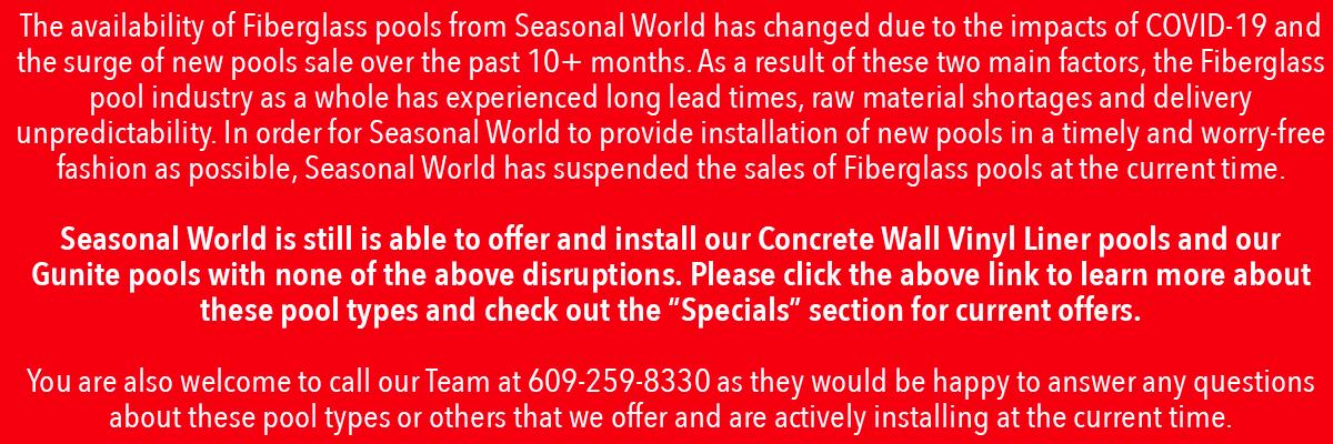 Fiberglass expanded