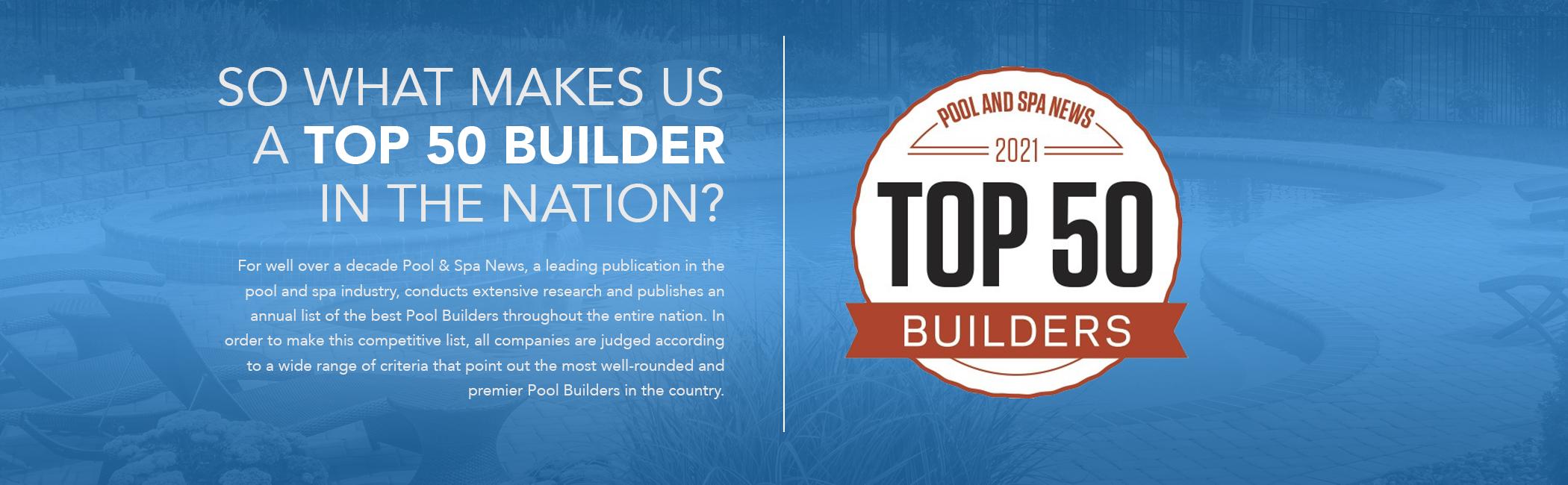 Top 50 Pool Builder Seasonal World